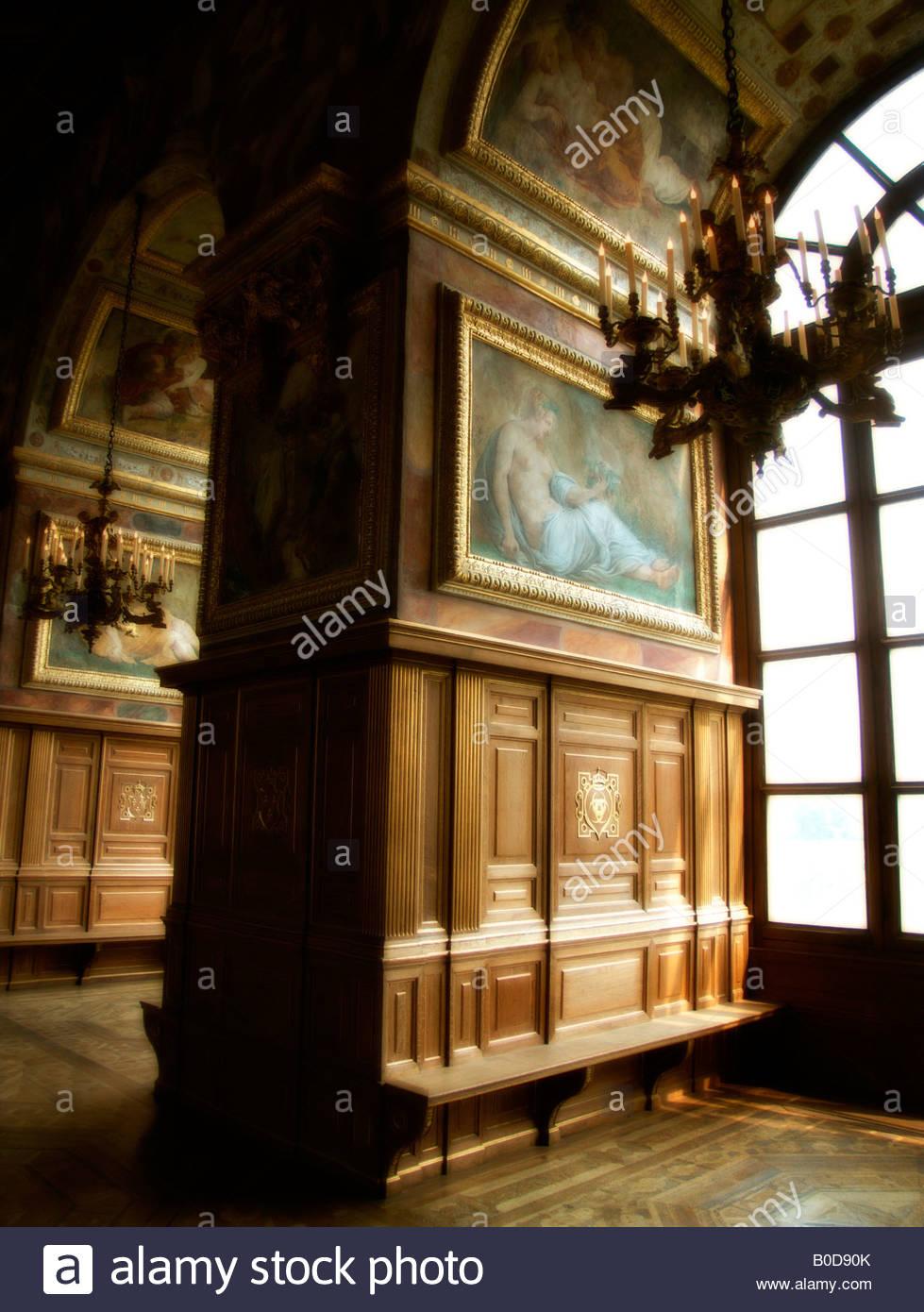 Salle De Bal (Dance Hall). Château De Fontainebleau avec Liste De Departement De France