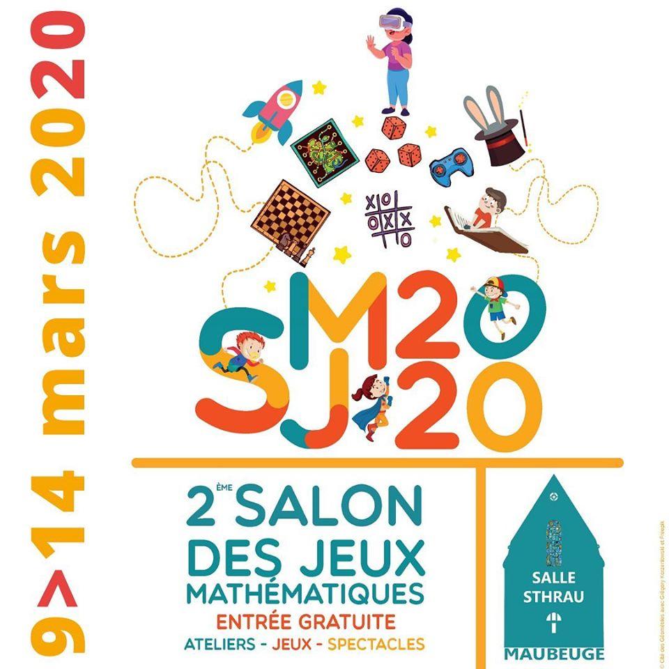 Salon Des Jeux Mathématiques | Tourisme En Avesnois intérieur Jeux De Matematique