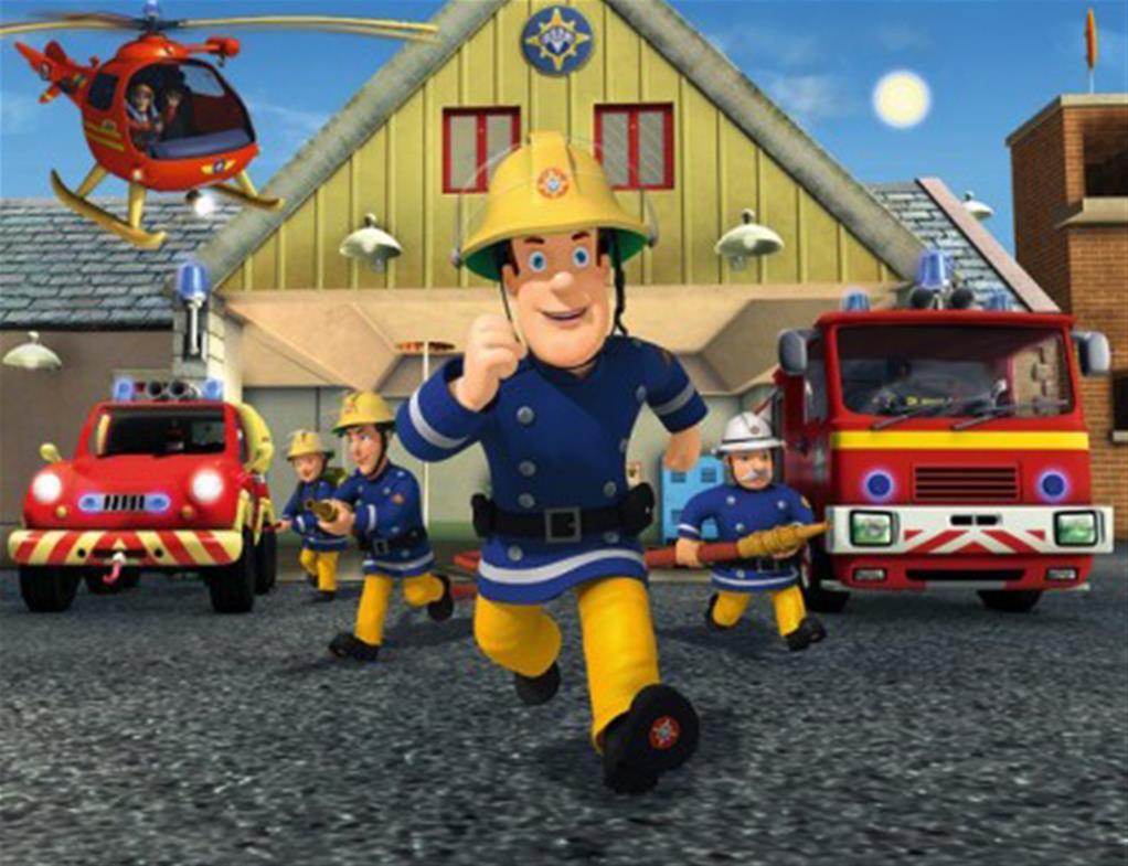 Sam Le Pompier Activitées Pour Enfant {À Imprimer} - La Fée pour Coloriage Pompier A Imprimer Gratuit