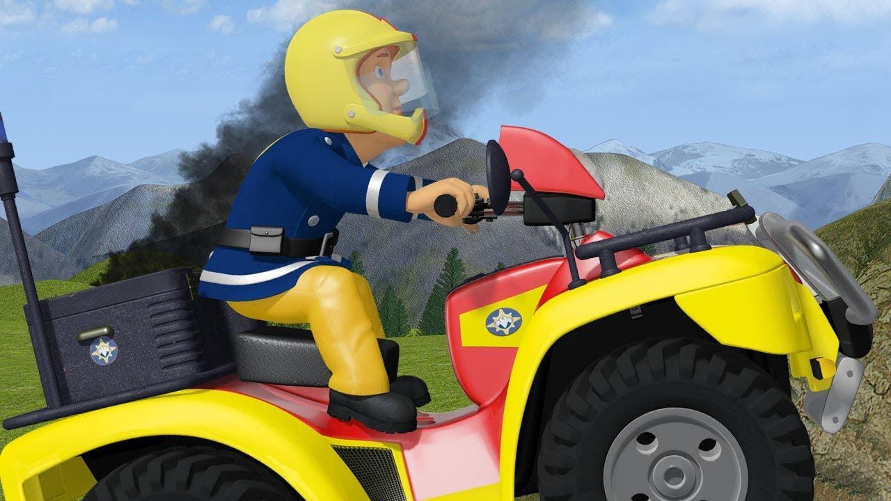 Sam Le Pompier Francais | L'équipe Combat Le Feu - Épisode Complet | Dessin  Animé à Sam Le Tracteur Dessin Anime