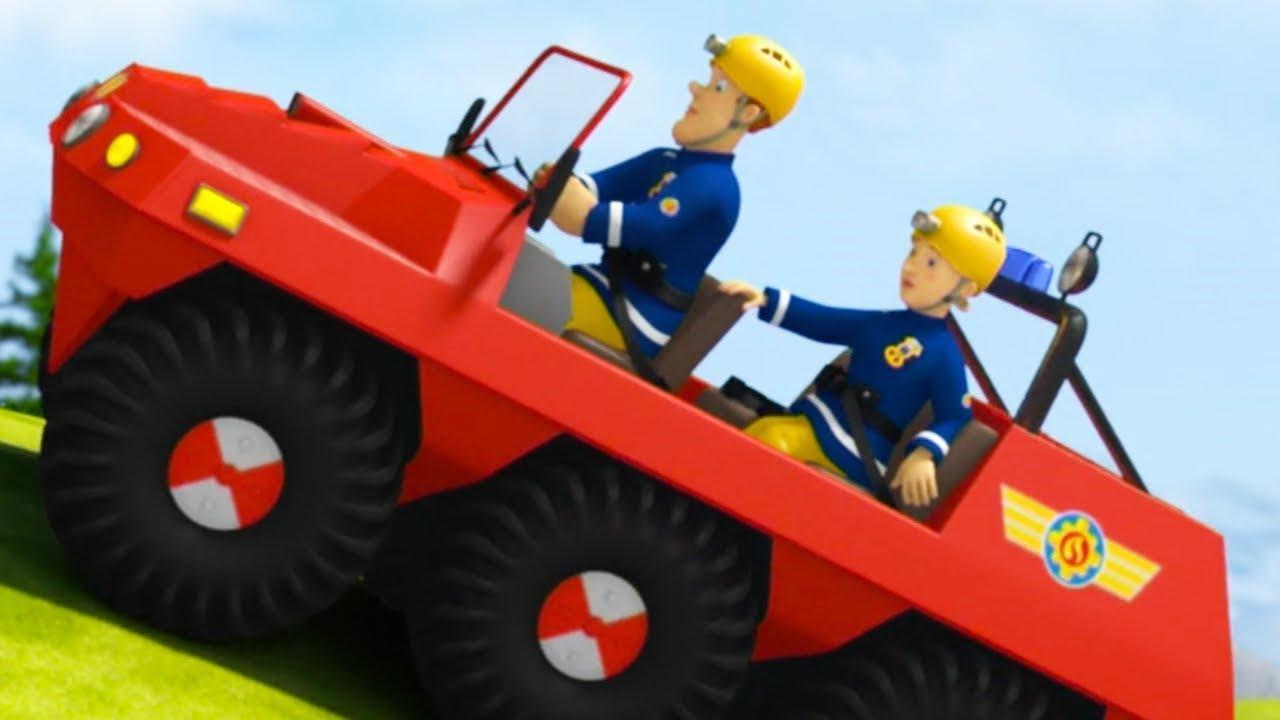 Sam Le Pompier | Le Véhicule Tout Terrain | Dessin Animé Pour Enfants |  Wildbrain dedans Sam Le Tracteur Dessin Anime