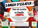Samedi D'essayer : Jeux De Société En Famille - Maison De La dedans Jeux 2 Ans Gratuit