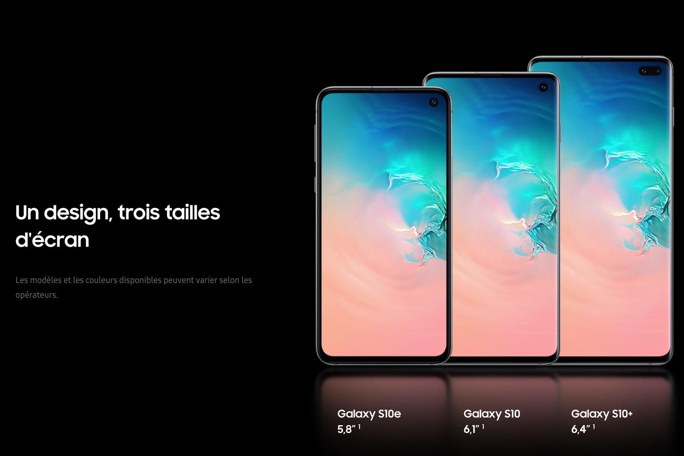 Samsung Galaxy S10 Vs S9 : Comparatif Et Différences Majeures intérieur Les 5 Differences