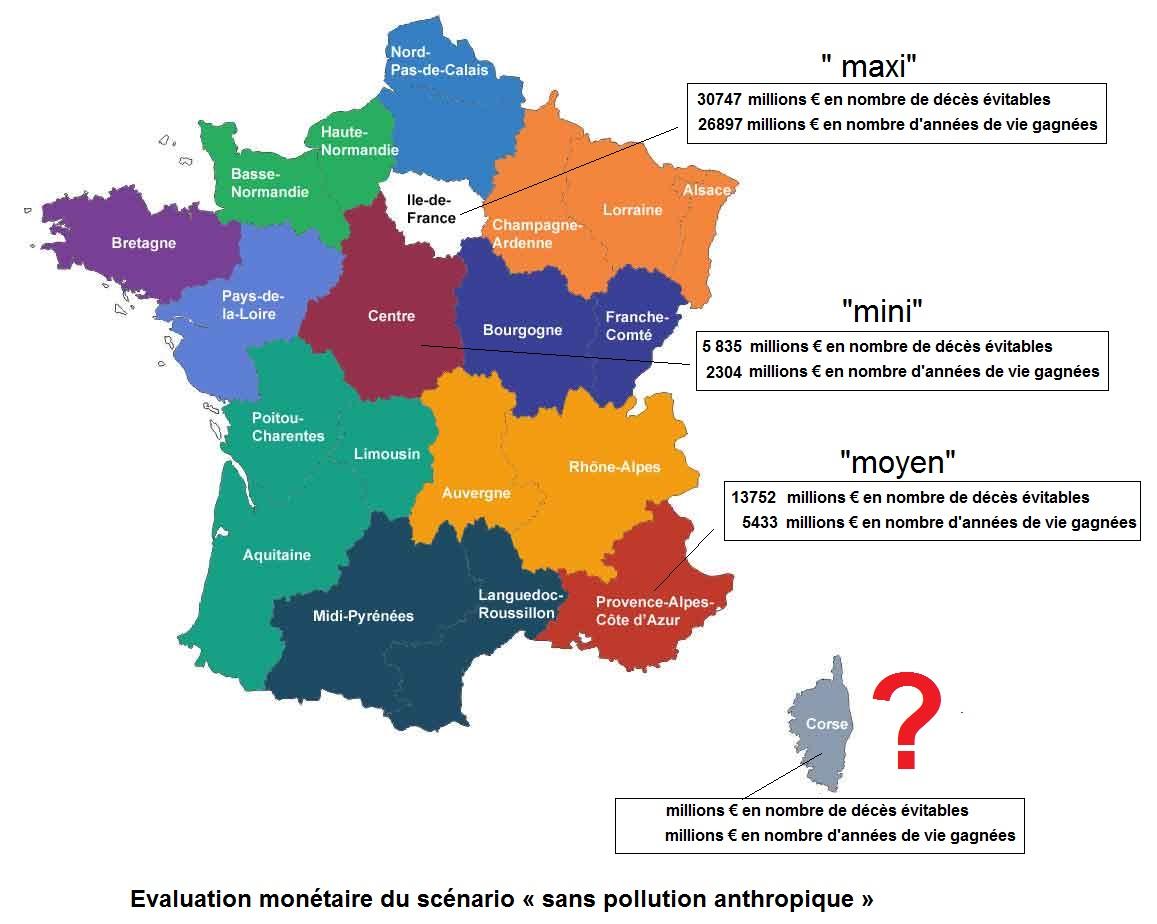 Santé, Espérance De Vie Et Décès: Le Ministère De La Santé N intérieur Carte Région France 2017