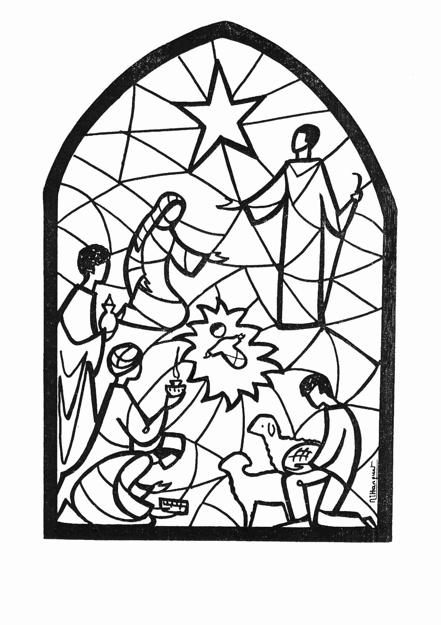 Santons Nativity Clipart Coloriage Berger Mouton A Imprimer serapportantà Photo De Mouton A Imprimer