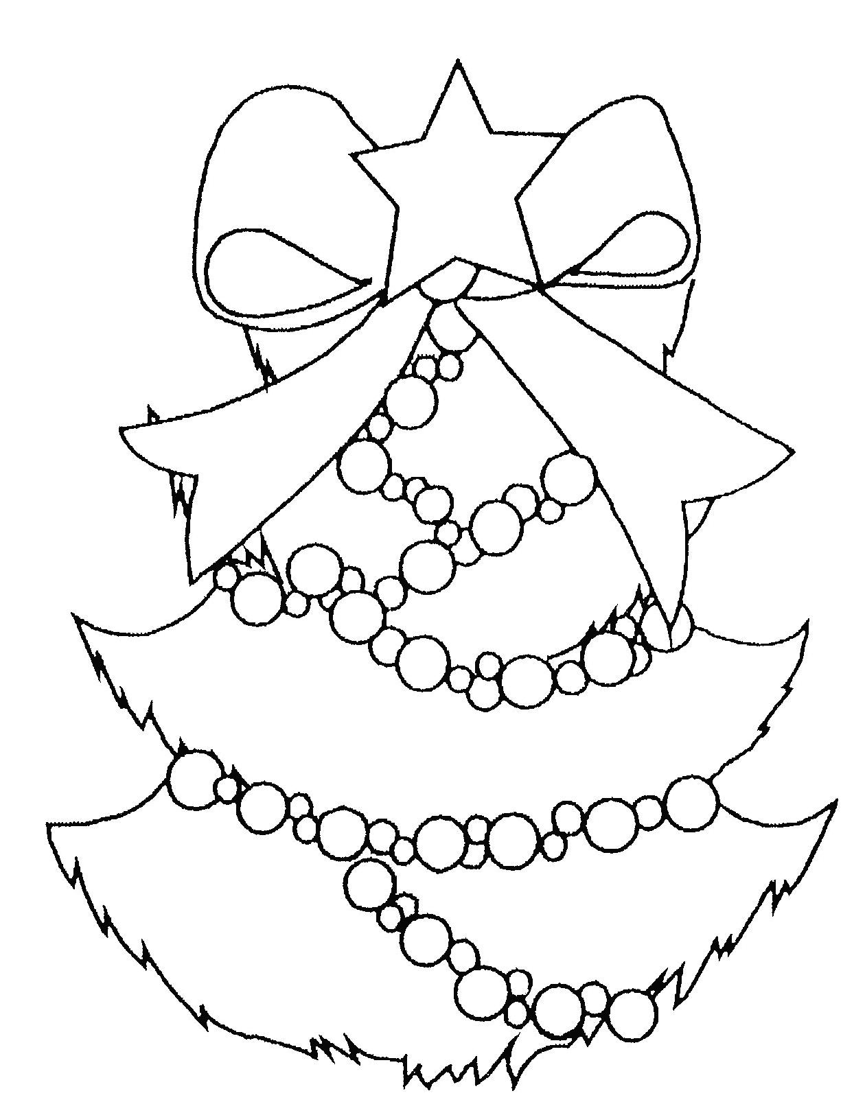 Sapin De Noël #27 (Objets) – Coloriages À Imprimer à Coloriage De Sapin De Noel A Imprimer Gratuit
