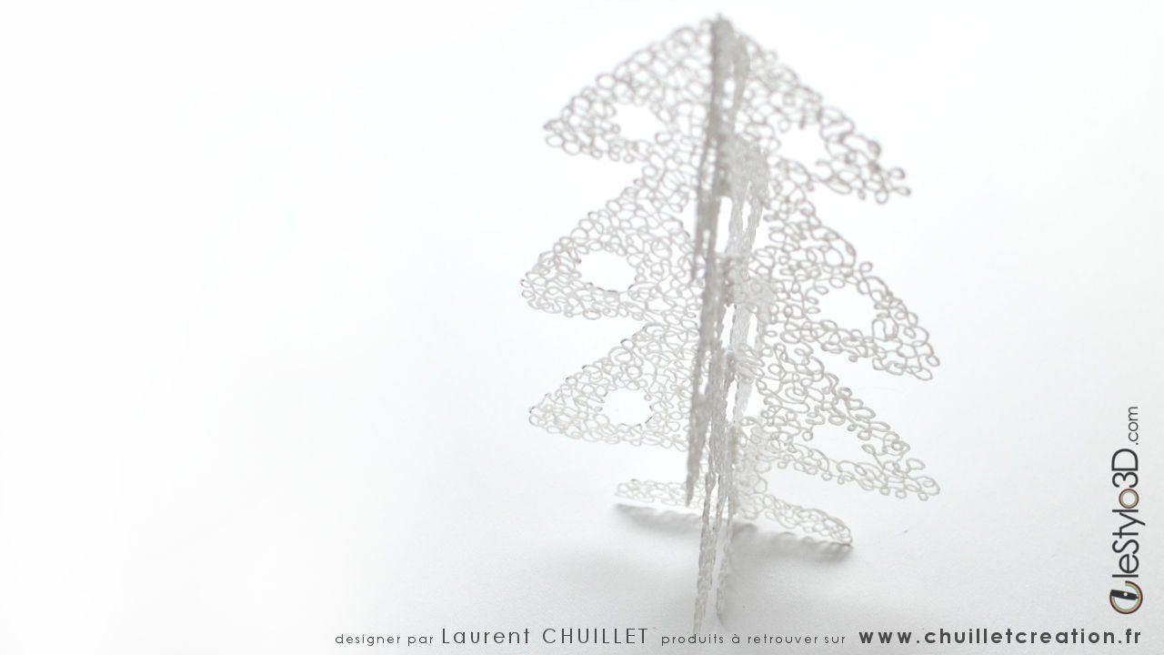 Sapin De Noël - Stylo 3D | Lestylo3D encequiconcerne Gabarit Sapin De Noel