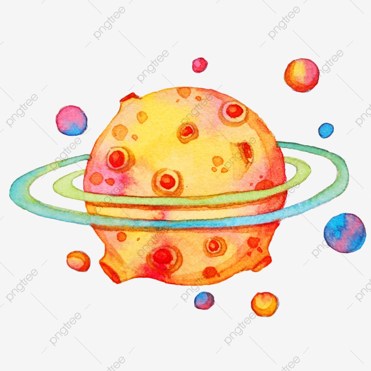 Saturne Jaune Illustration De Dessin Animé Aérospatiale pour Saturne Dessin