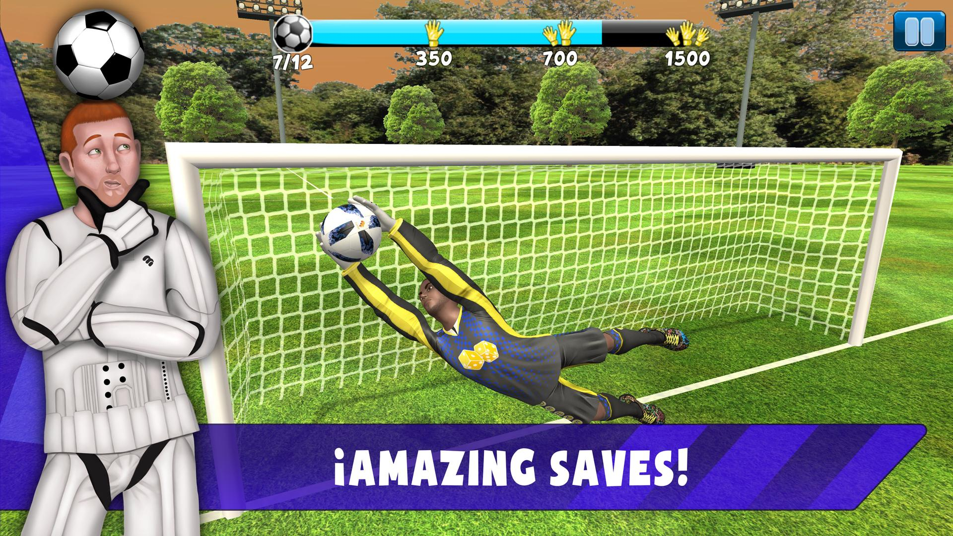 Save! Hero - Gardien De But Jeu Foot 2019 Pour Android dedans Jeux De Gardien De But