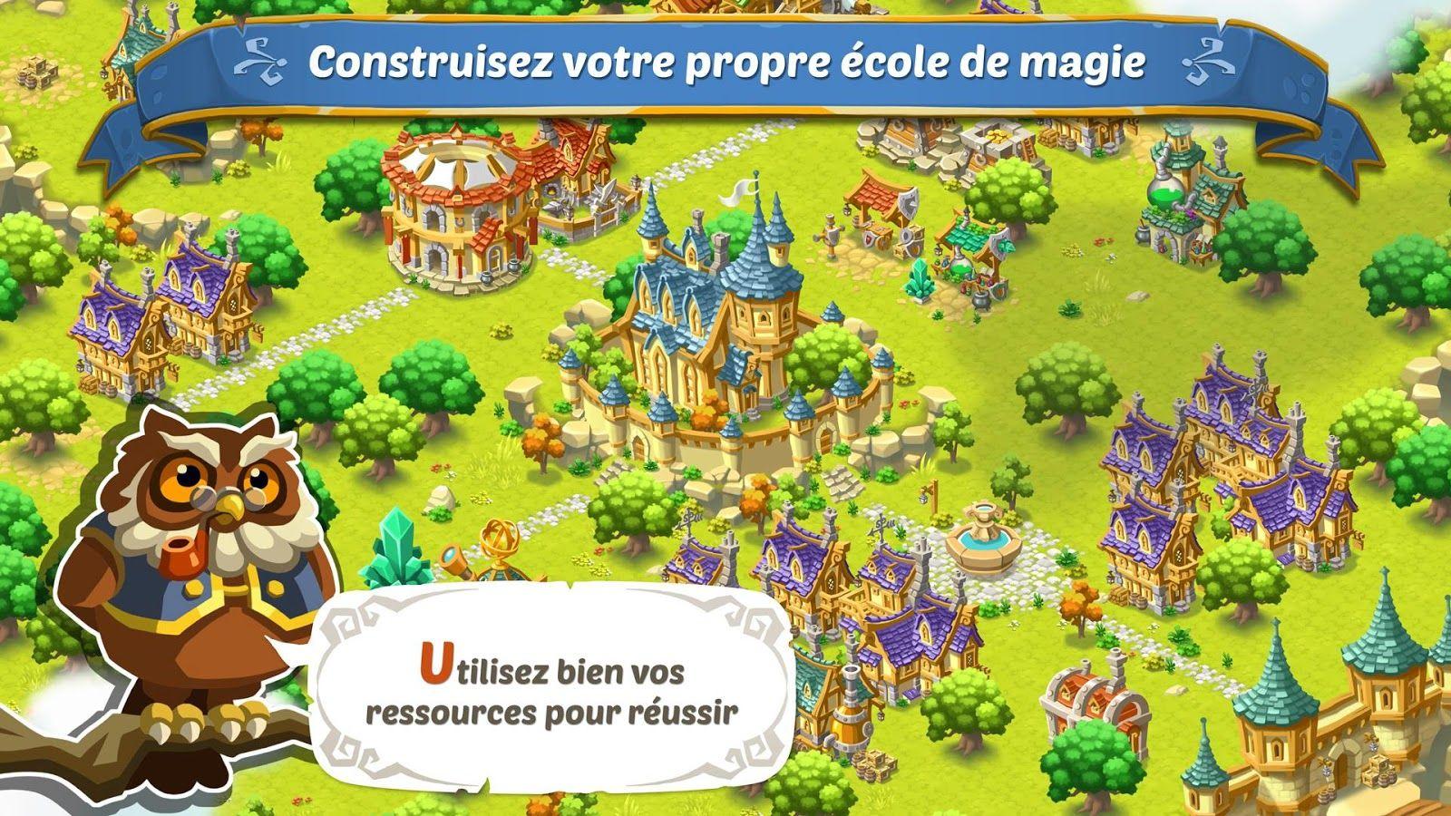 School Of Magic : Un Joli Jeu De Gestion Et De Sorcellerie encequiconcerne Jeux Gratuit De Village