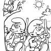Schtroumpfs #115 (Dessins Animés) – Coloriages À Imprimer pour Schtroumpf À Colorier