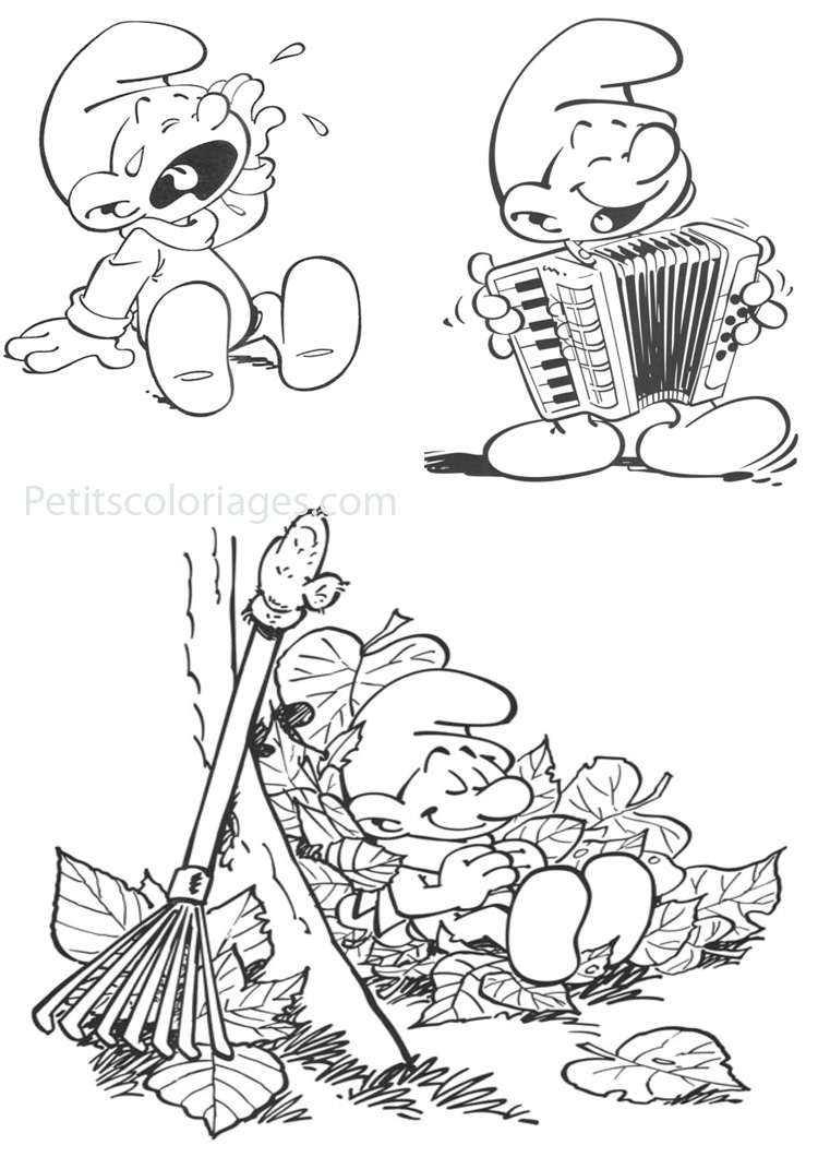 Schtroumpfs #162 (Cartoons) – Printable Coloring Pages serapportantà Schtroumpf À Colorier