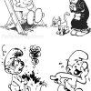 Schtroumpfs #234 (Dessins Animés) – Coloriages À Imprimer tout Schtroumpf À Colorier