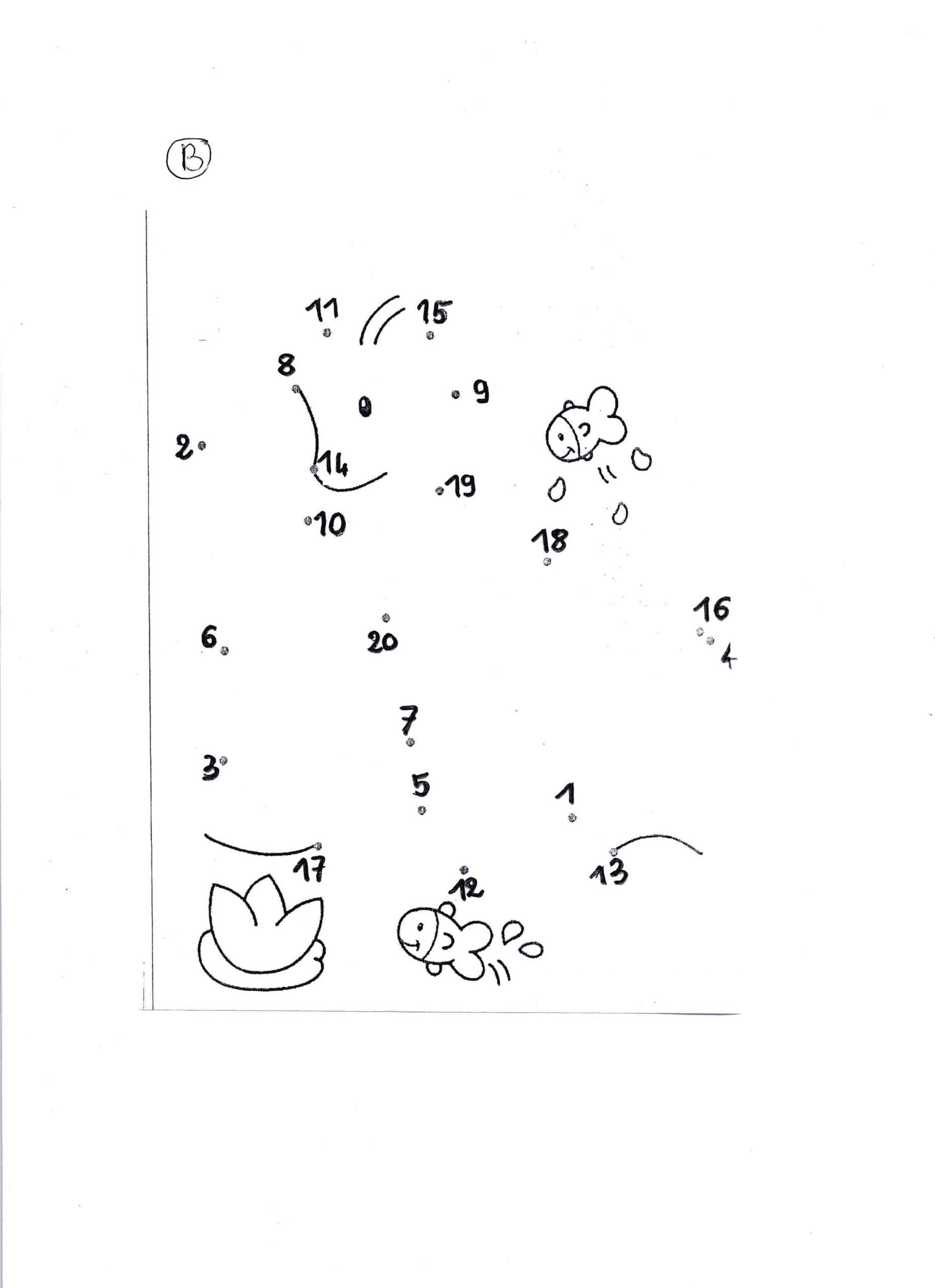 Sciences-Maths 38 [Numération Et Construction De Jeux.] :.. encequiconcerne Relier Les Points De 1 À 30