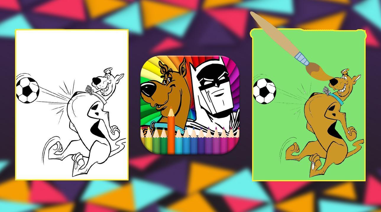 Scooby Doo Coloring Book Pour Android - Téléchargez L'apk avec Scooby Doo À Colorier