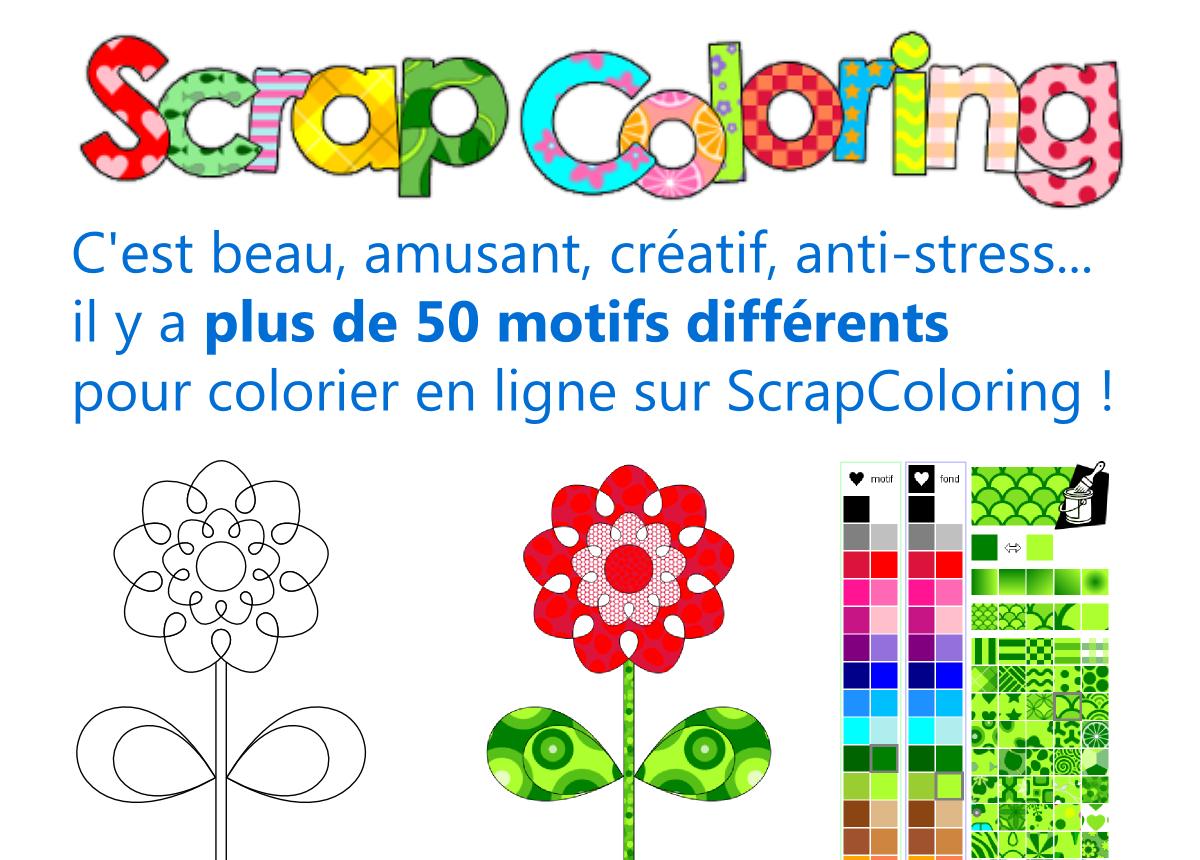 Scrapcoloring - Coloriage En Ligne Et Coloriages À Imprimer dedans Dessin À Colorier En Ligne Gratuit