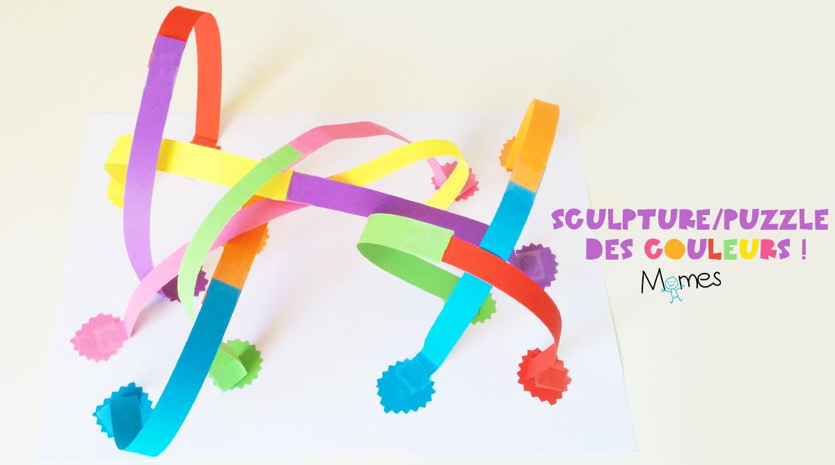 Sculpture De Papier : Les Couleurs - Momes concernant Activité Pour Apprendre Les Couleurs