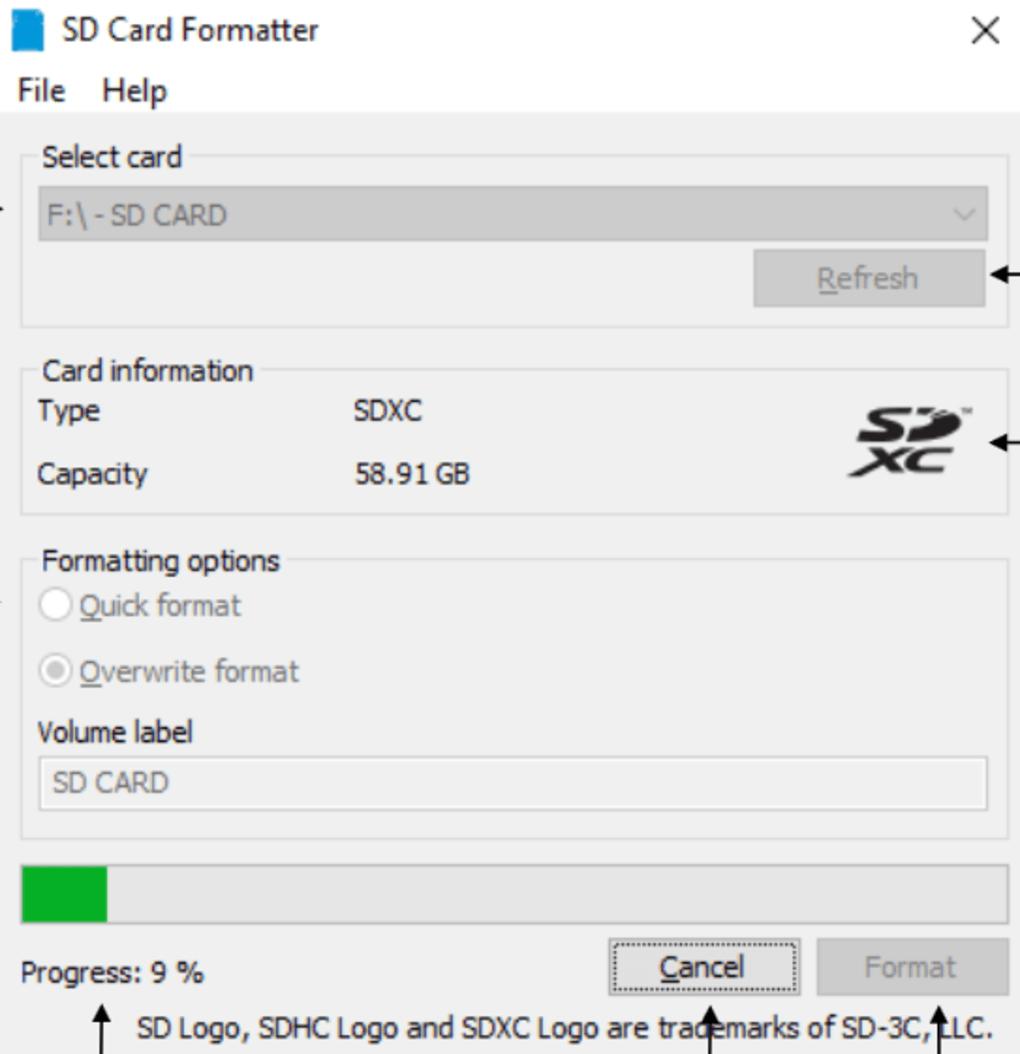 Sd Memory Card Formatter - Télécharger pour Jeux De Memory Gratuit