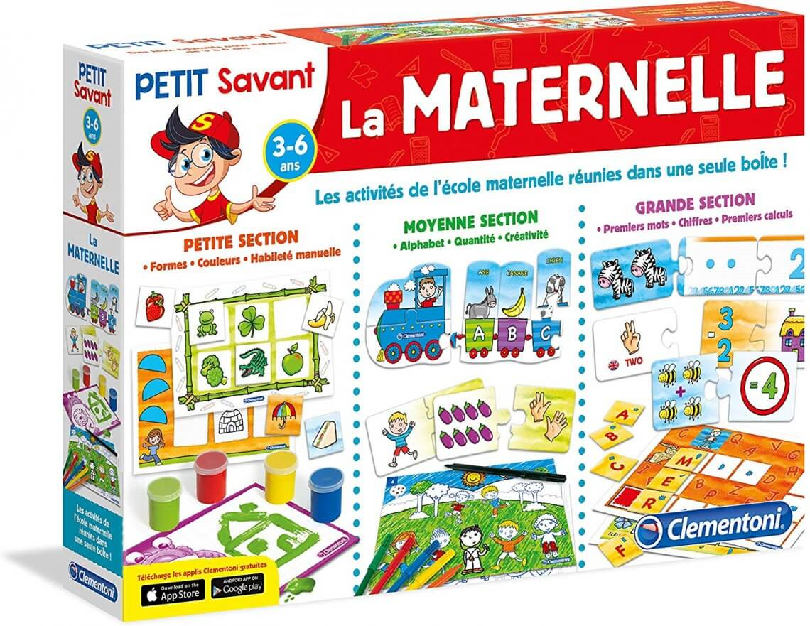 Sélection Des Meilleurs Jeux De Société 3 Ans - Culture 13 destiné Jeux Apprentissage Maternelle