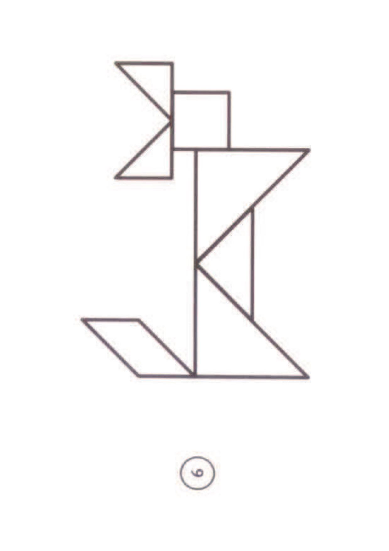 Séquence Sur Les Tangram Gs - La Classe De Luccia ! pour Jeu De Tangram À Imprimer
