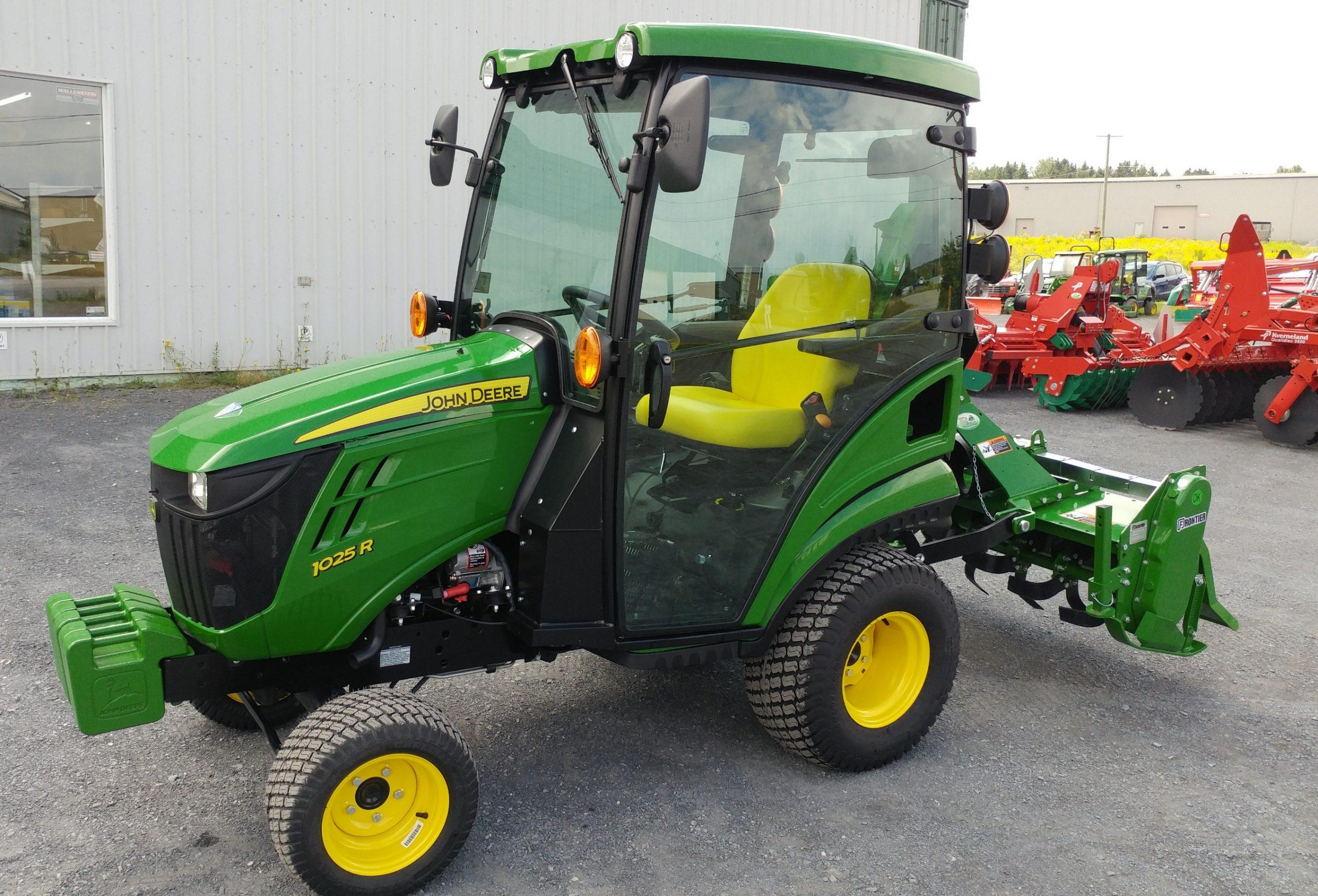 Série Compact De 23 A 66 Hp | Les Équipements Agri-Beauce à Image Tracteur John Deere