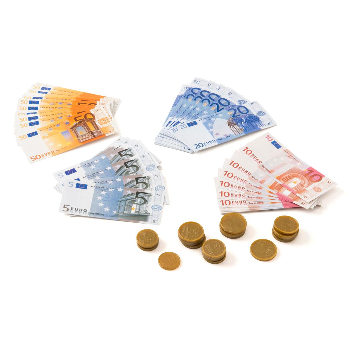 Set De Billets Et Pièces à Fausses Pieces Euros