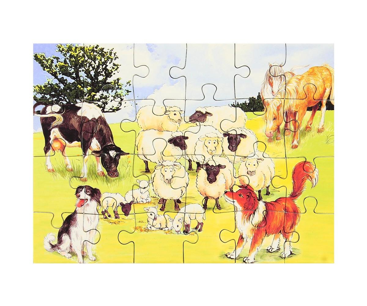 Set Jouet Lot 2 Mini Puzzles Ludique Jeu Enfant Animaux De concernant Jeux Les Animaux De La Ferme