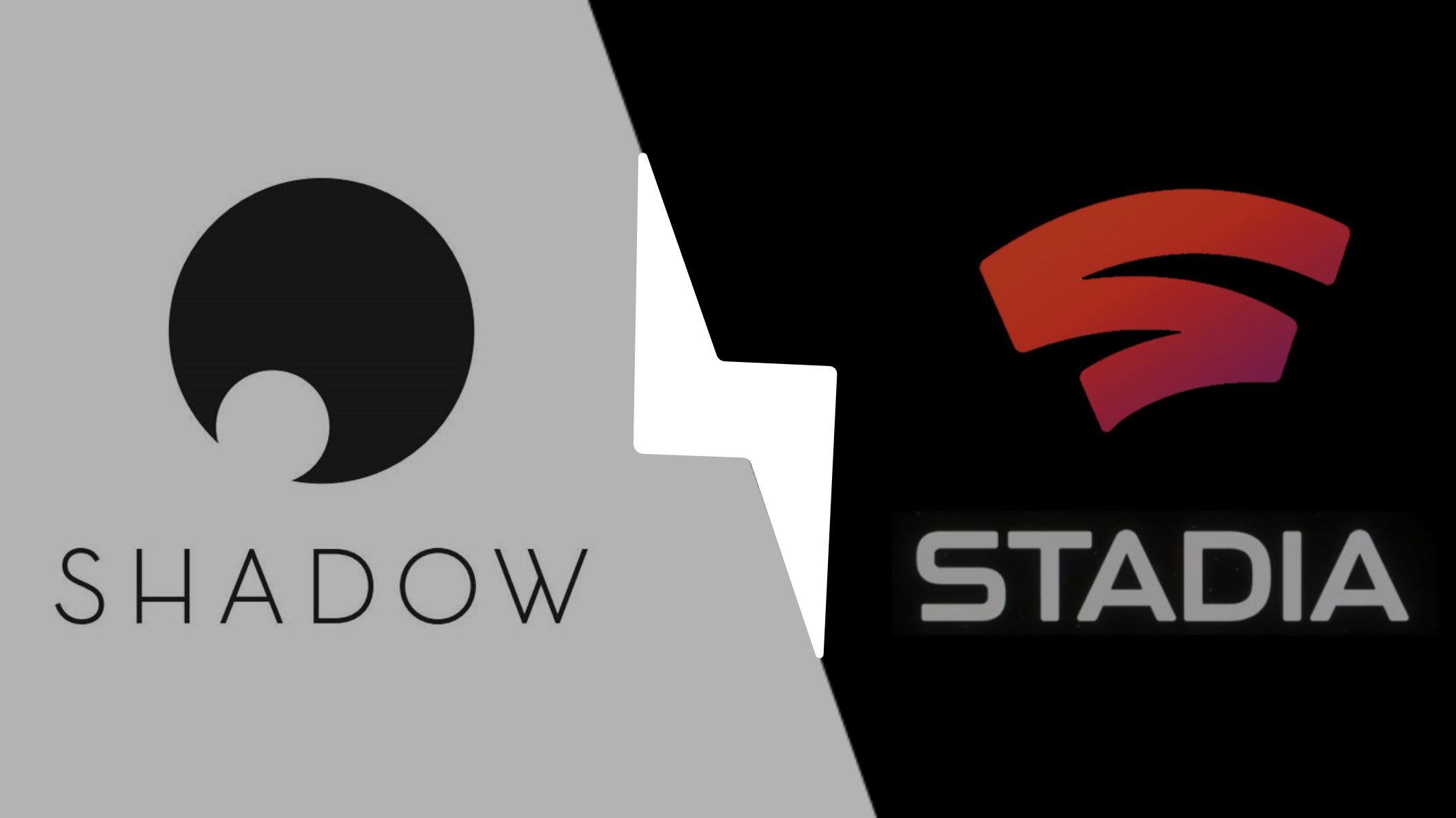 Shadow Vs Google Stadia : Catalogue, Prix, Performances Et tout Jeux Des Différences Gratuit En Ligne