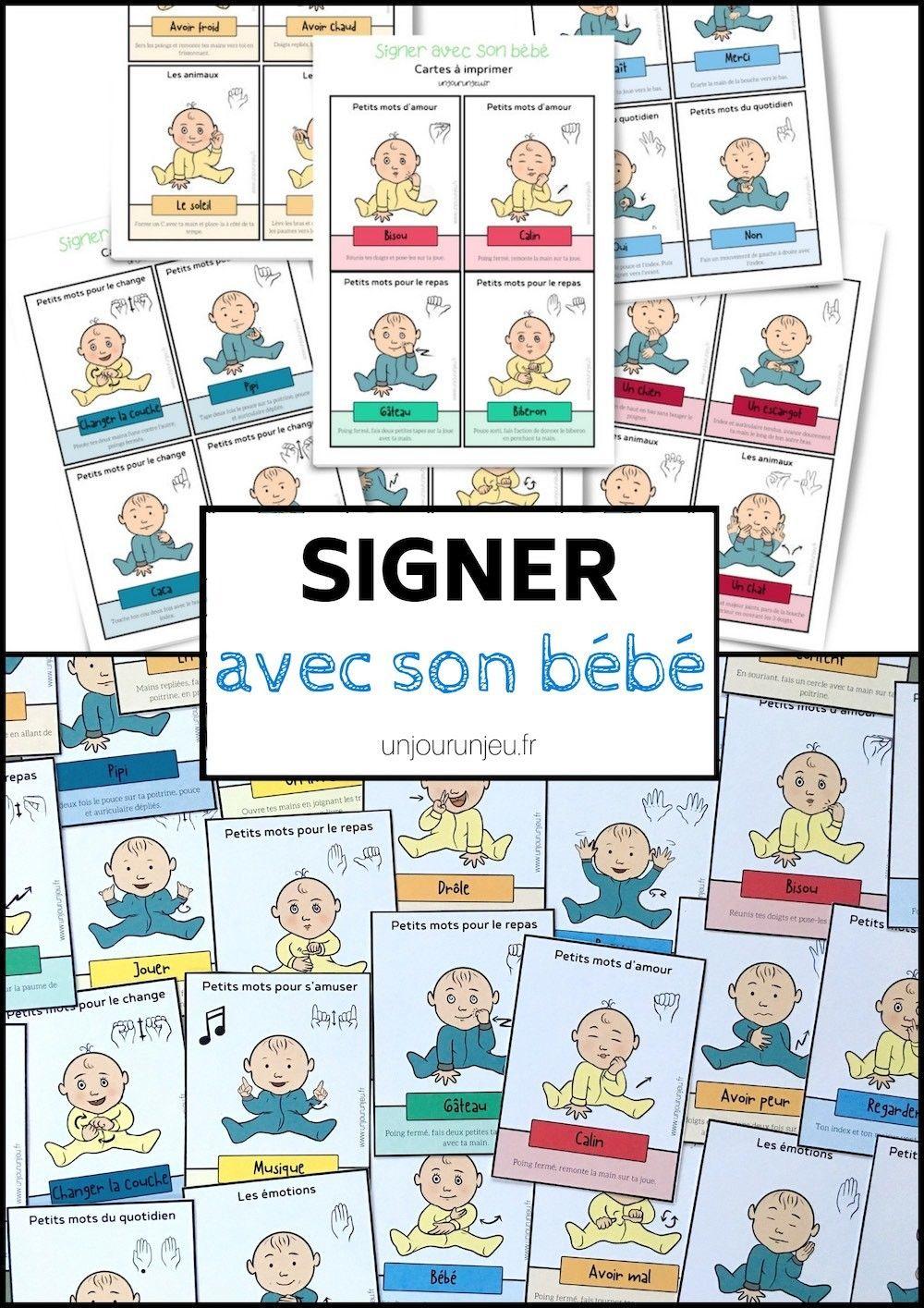 Signer Avec Son Bébé : 52 Cartes À Télécharger Gratuitement tout Telecharger Jeux Bebe Gratuit