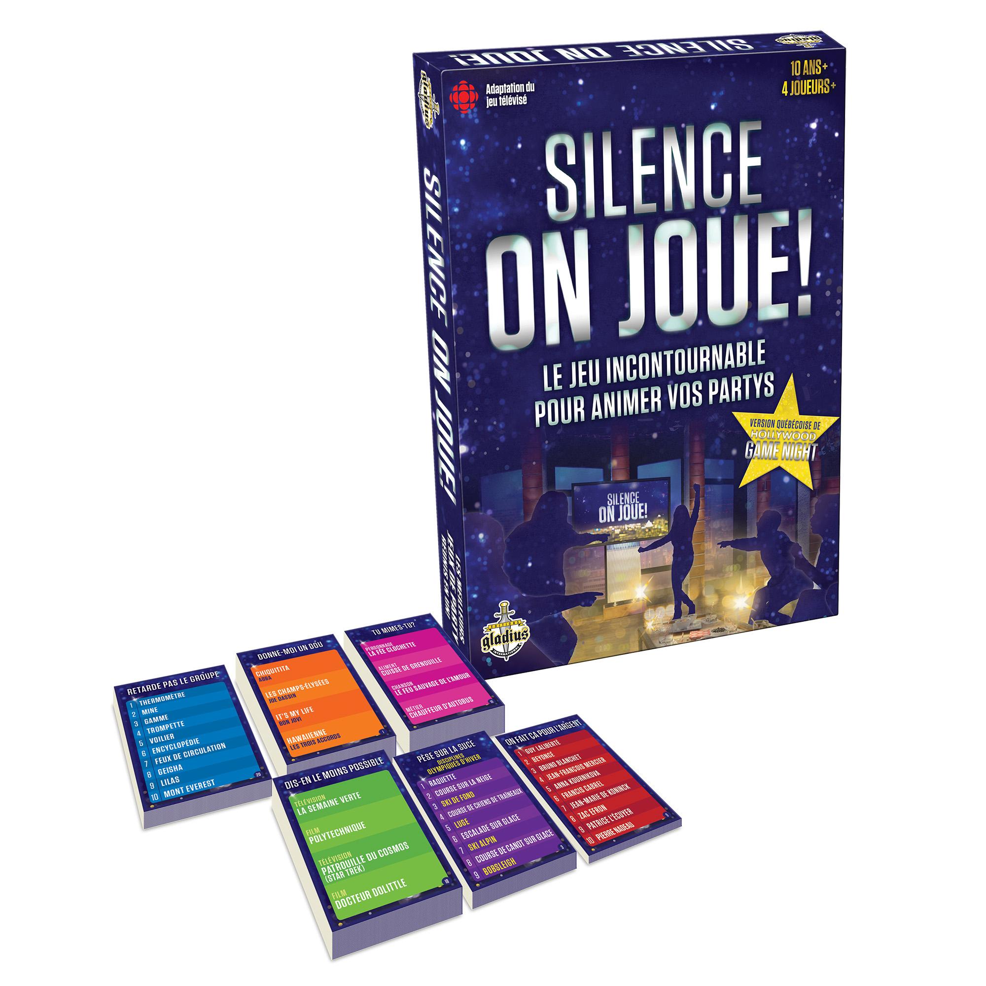 Silence, On Joue! tout Jeux En Ligne 2 Ans