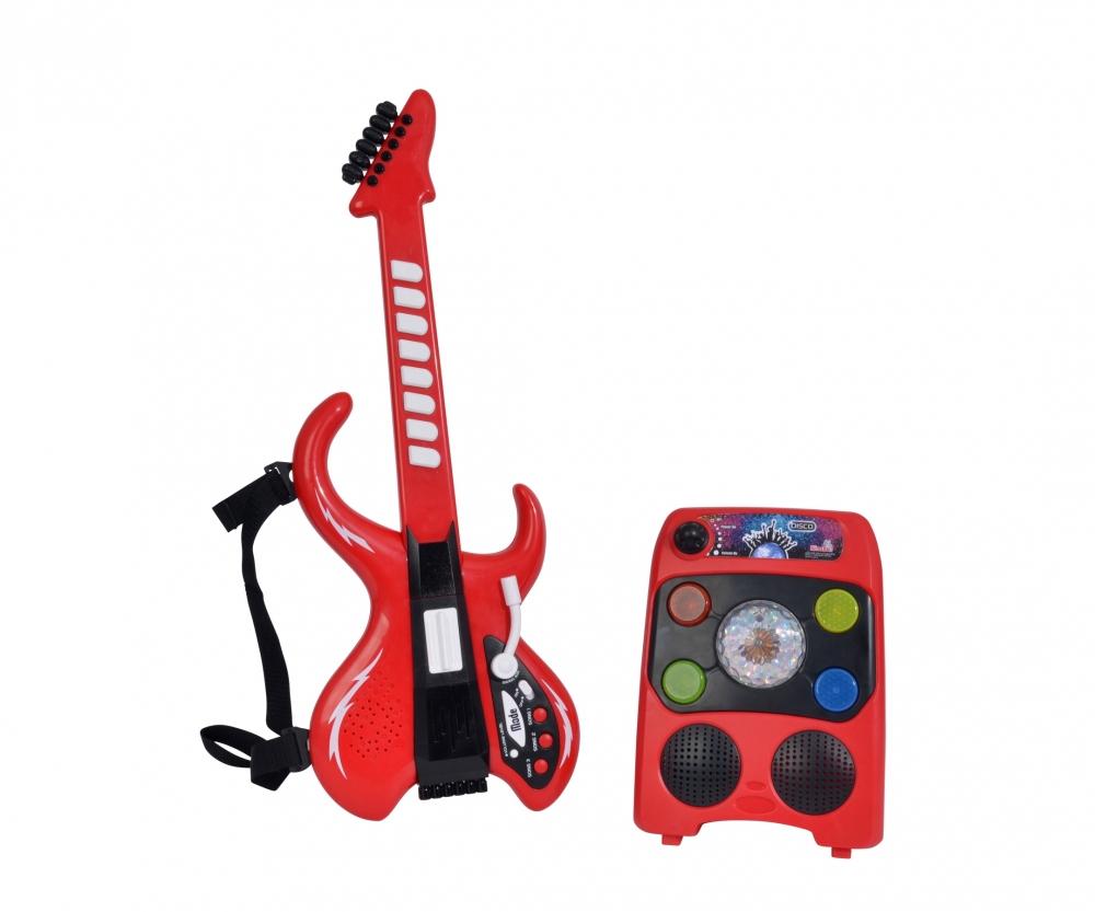 Simba 106834251 My Music World Disco Guitare Avec serapportantà Jeu Des Instruments De Musique