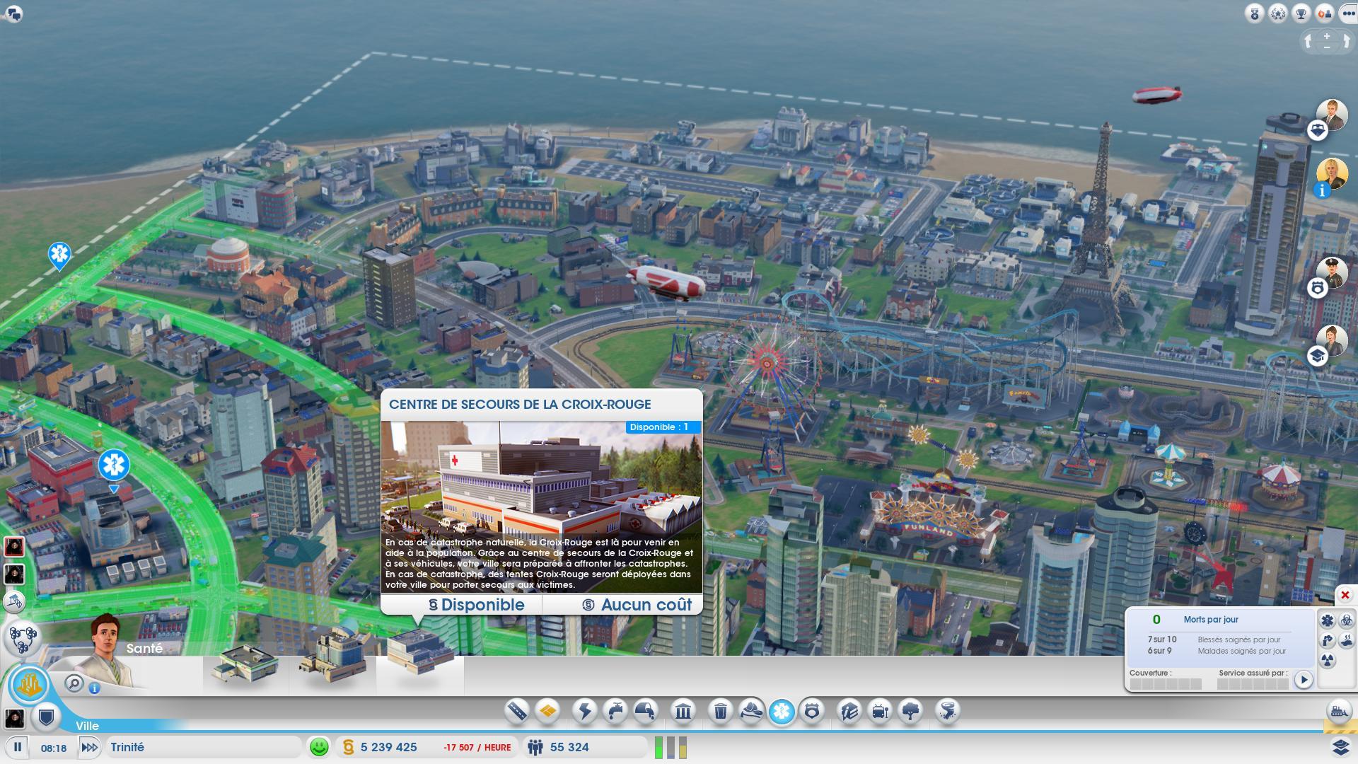 Simcity - Dlc : La Croix-Rouge En Jeu - Game-Guide destiné Jeux De Catastrophe Naturel Gratuit
