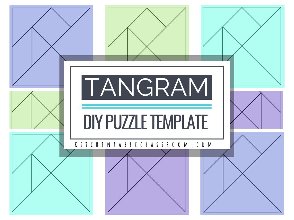 Simple Tangram Worksheets | Printable Worksheets And serapportantà Tangram Simple