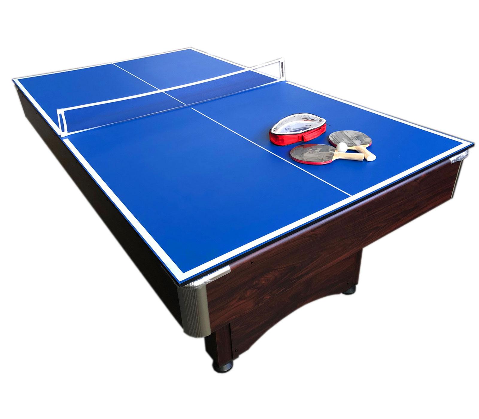 Sirio - 2 En 1 Table De Billards 7 Pieds Et Tennis De Table à Jeux Gratuit Billard