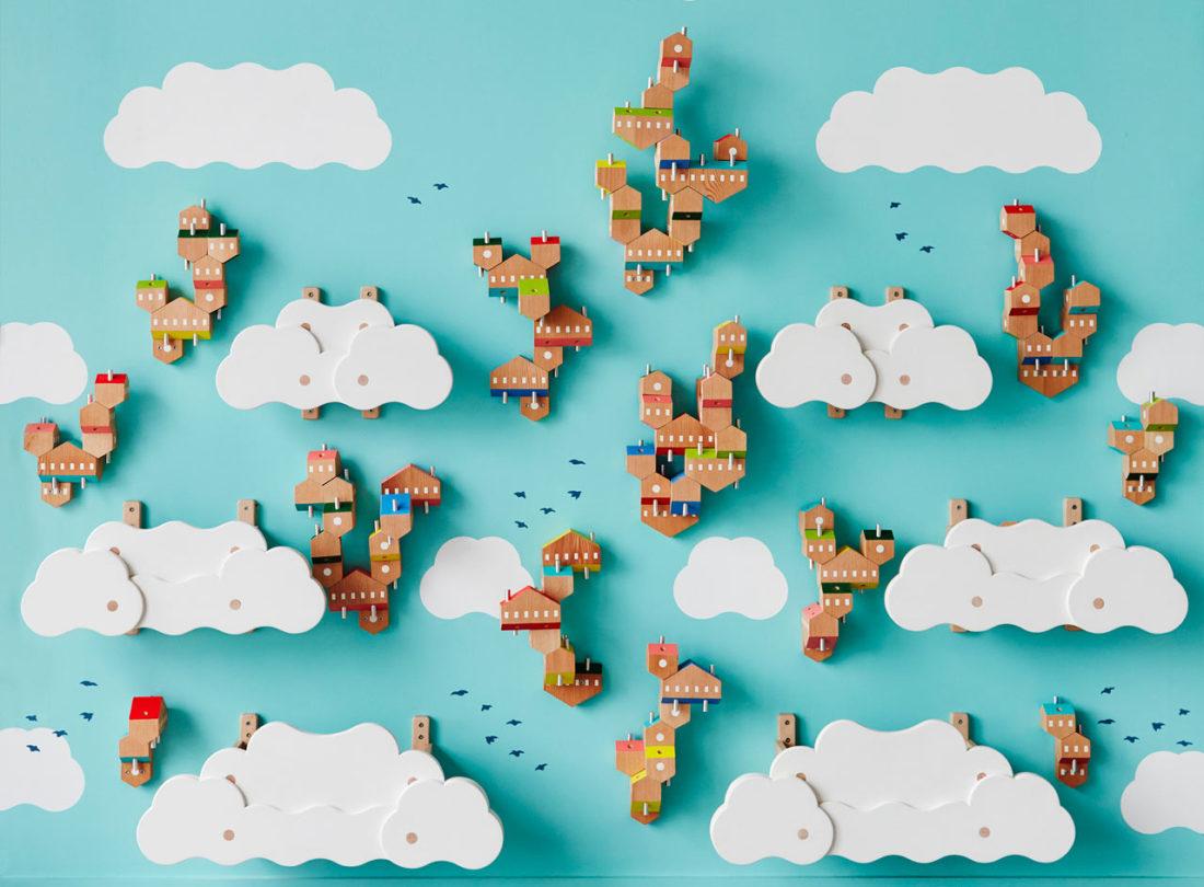 Sky Villages » : Une Installation Interactive Pour Enfants tout Jeu Interactif Enfant