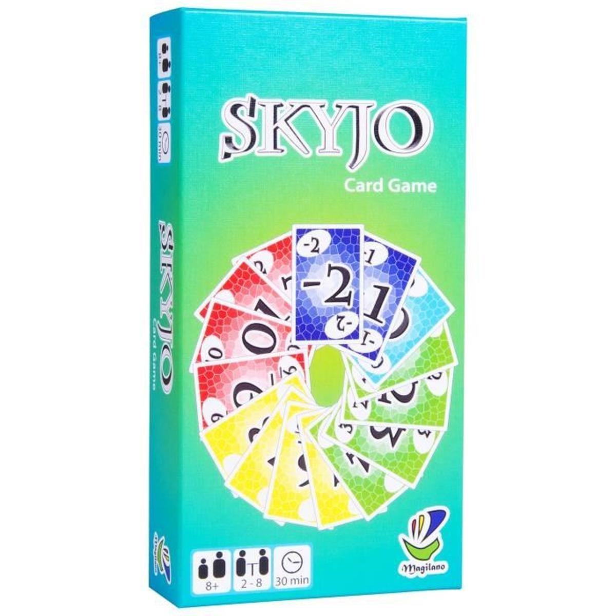 Skyjo, De Magilano -Un Nouveau Jeu De Société Pour Se serapportantà Jeux Pour Garçon De 8 Ans Gratuit