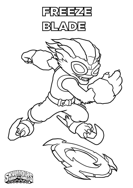 Skylanders #40 (Dessins Animés) – Coloriages À Imprimer avec Dessin De Skylanders