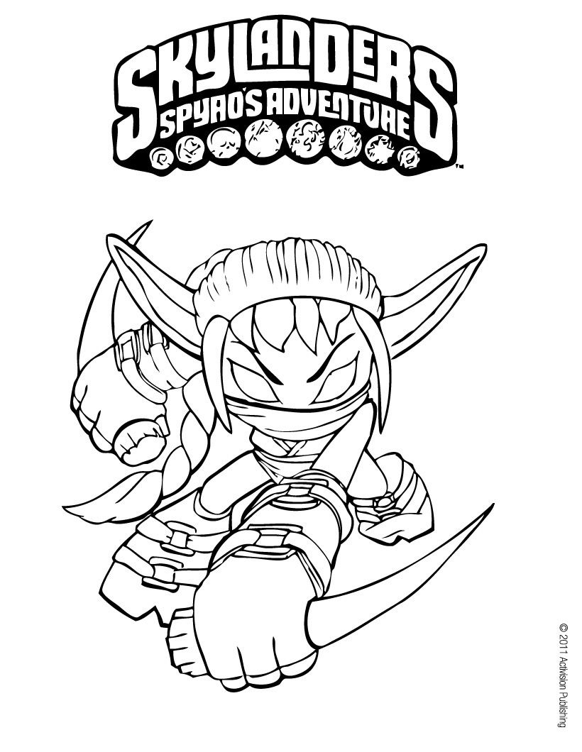 Skylanders Coloring Pages (With Images) | Coloring Pages pour Dessin De Skylanders