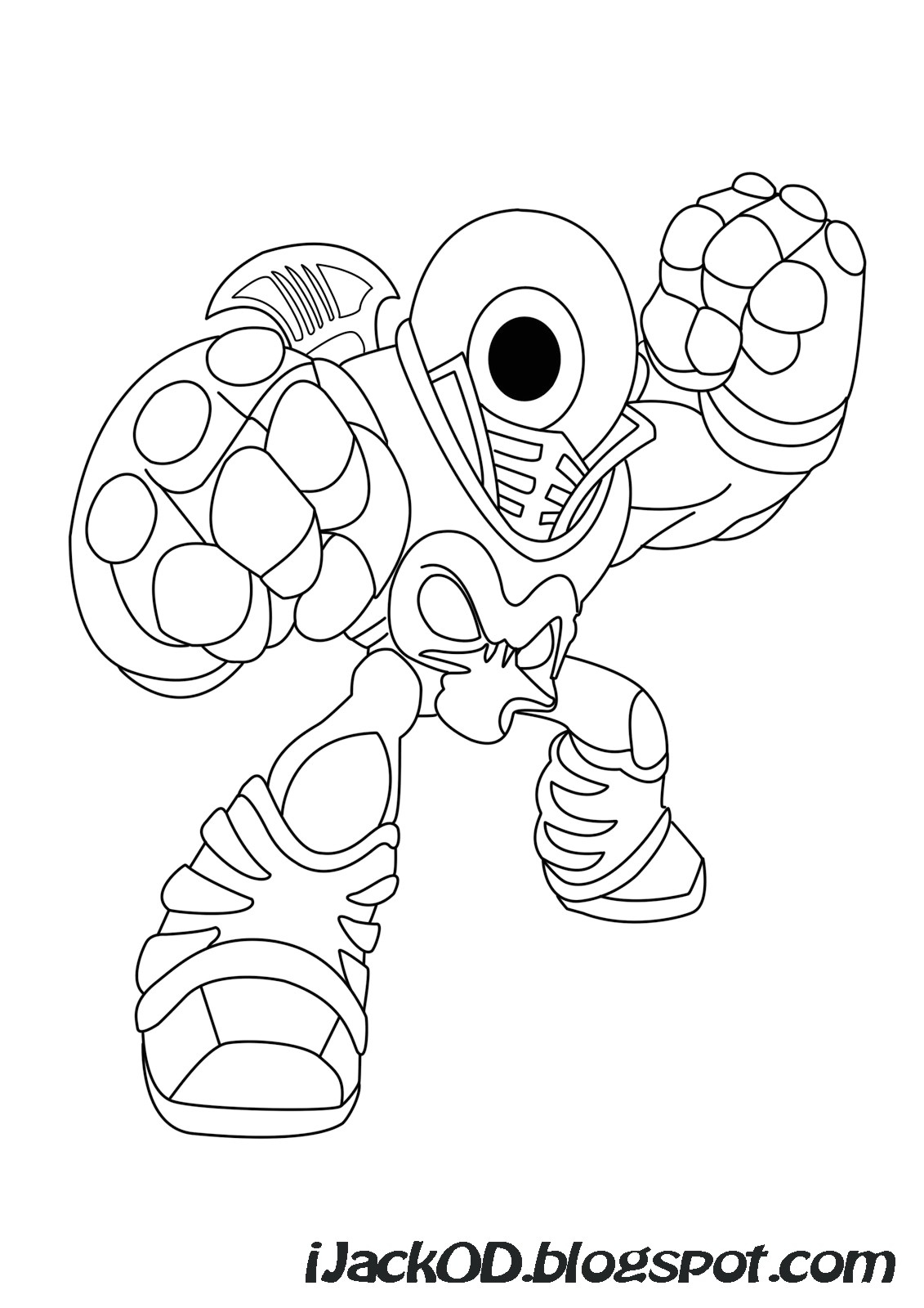 Skylanders Giants Tree Rex Coloring Pages Coloriage Dessin pour Dessin De Skylanders