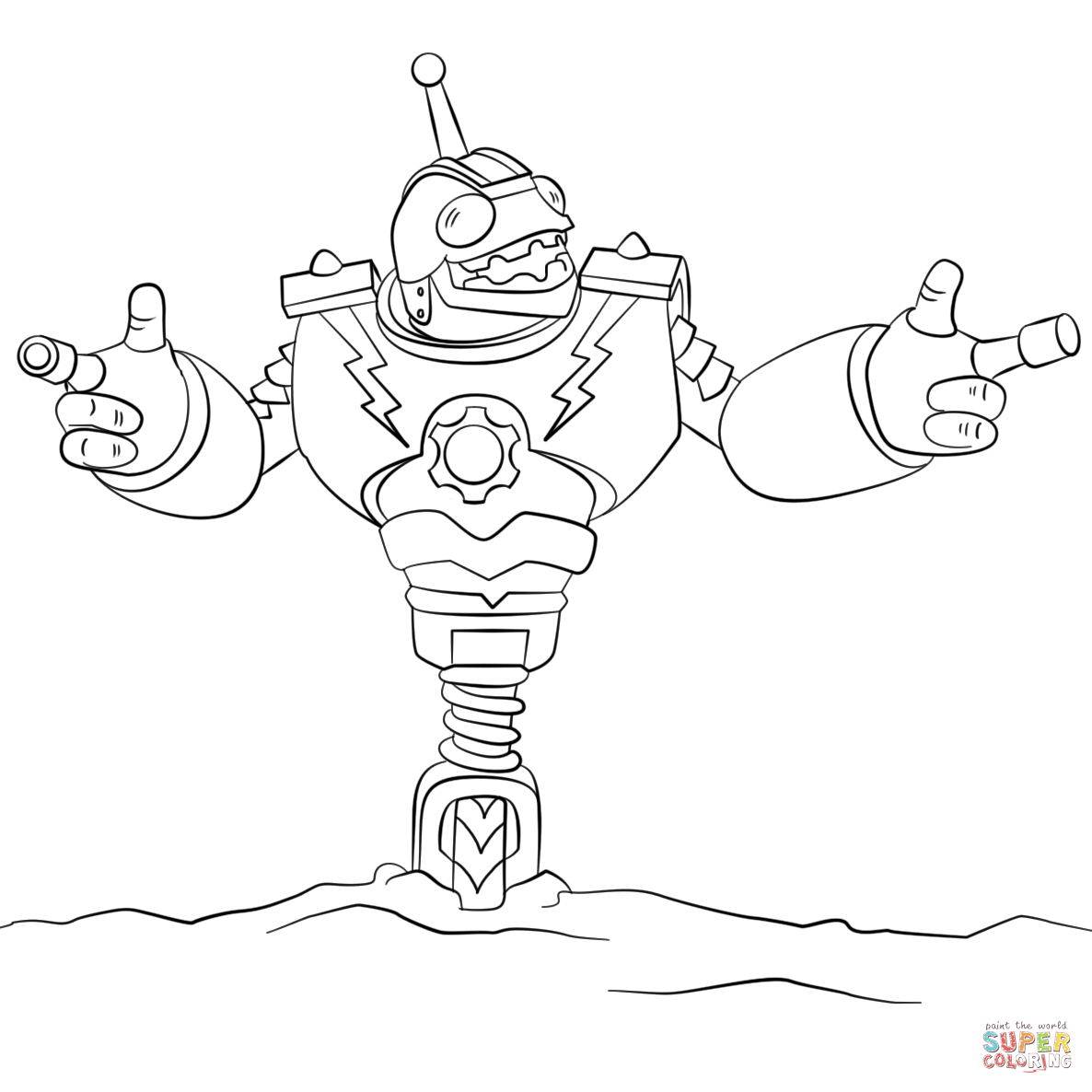 Skylanders Giants Tree Rex Coloring Pages – Kaigobank tout Dessin De Skylanders