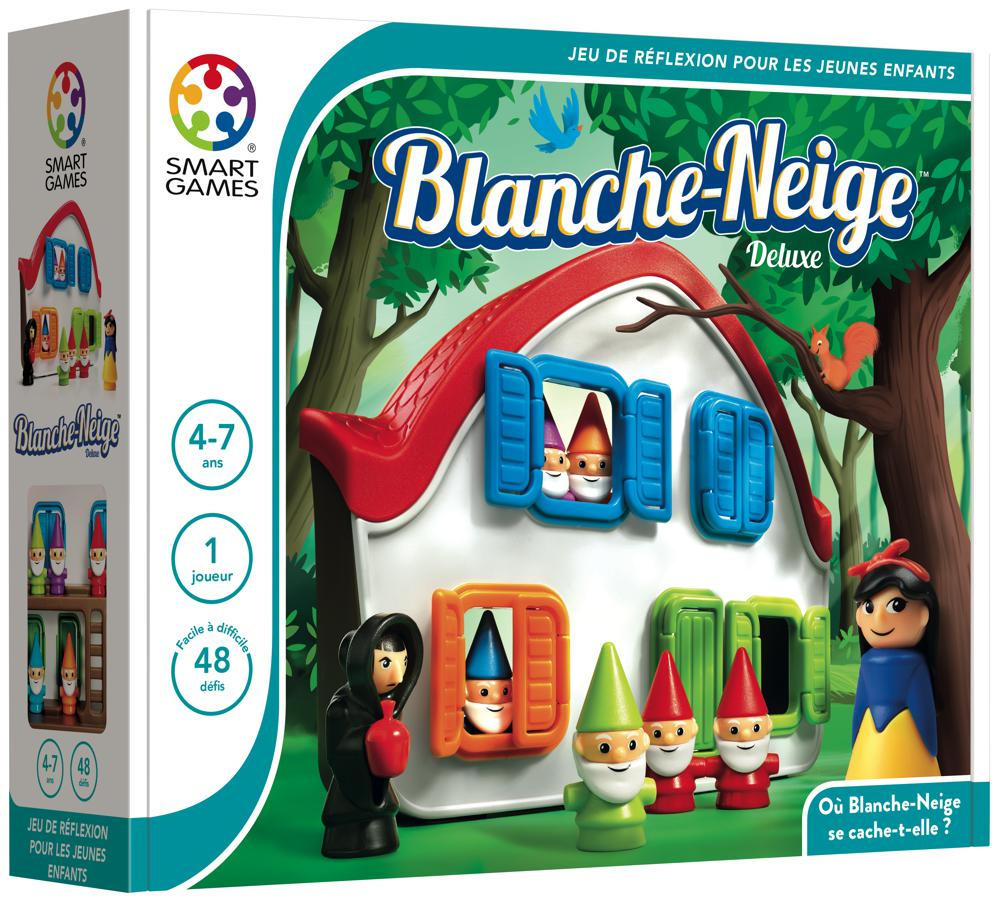 Smart Games - Blanche-Neige à Jeux Pour Enfant De 4 Ans