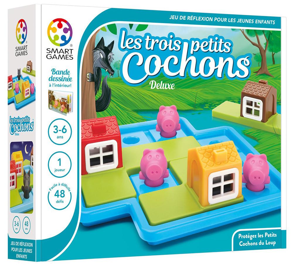 Smart Games - Les Trois Petits Cochons destiné Jeu Logique Enfant
