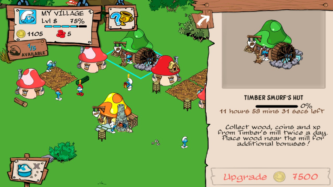 Smurfs' Village – Jeux Pour Android 2018 - Téléchargement tout Jeux Gratuit De Village
