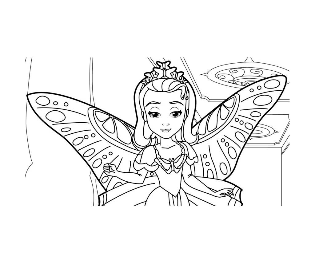 Sofiahalloween - Coloriage Princesse Sofia (Disney tout Coloriage Princesses Disney À Imprimer