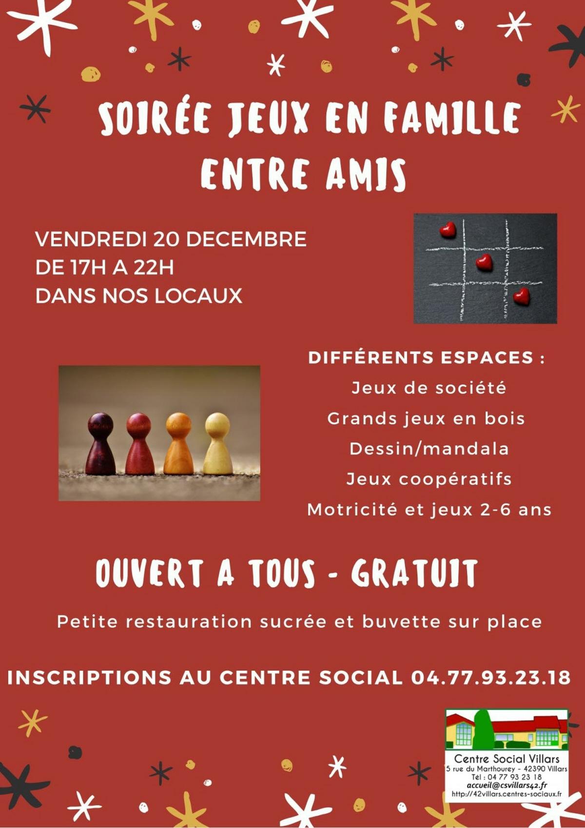 Soiree Jeux : Jeu, Concours A Villars serapportantà Jeux De 6 Ans Gratuit