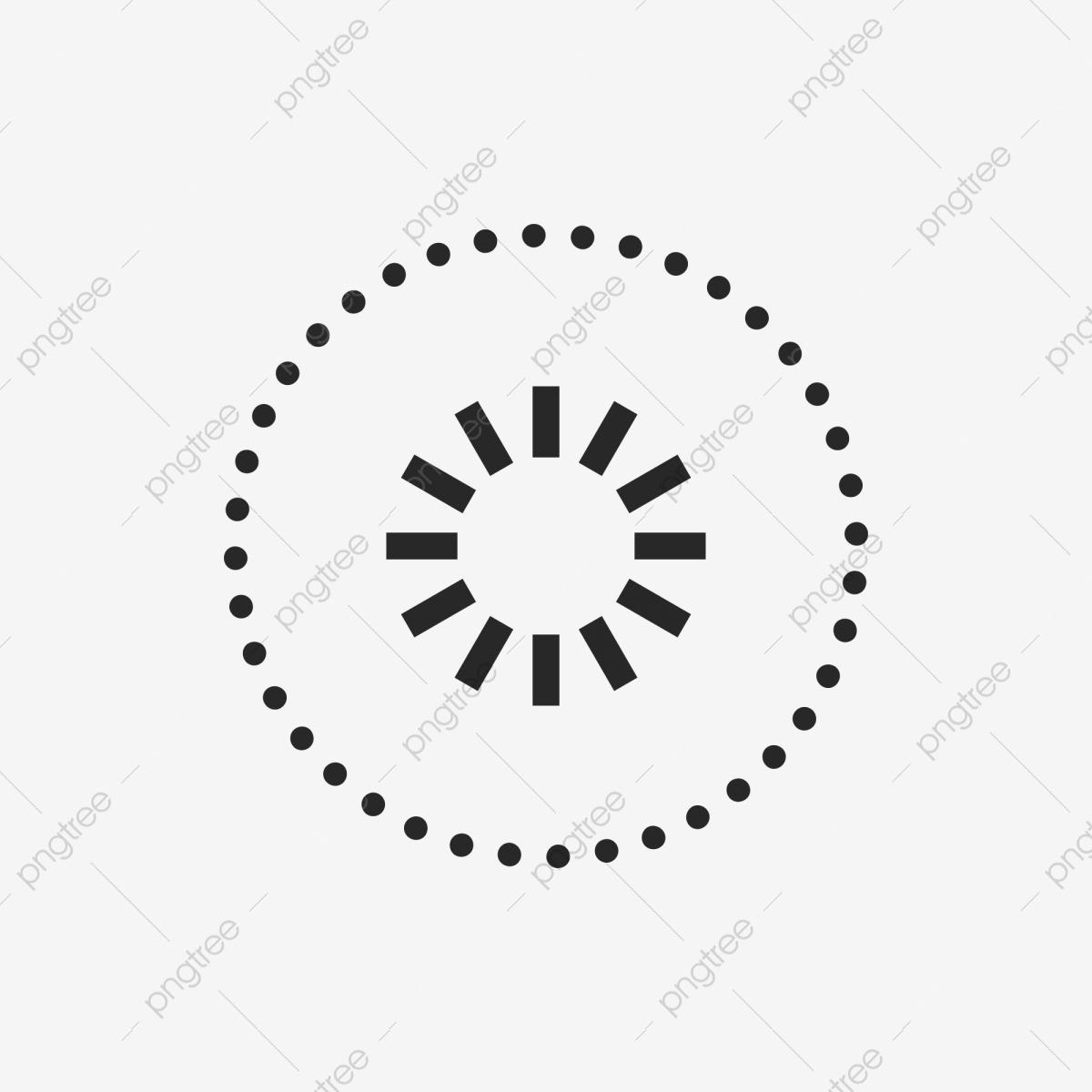 Soleil Forme De Modèle Icône De Cercle Cercle En Pointillé encequiconcerne Dessin En Pointillé