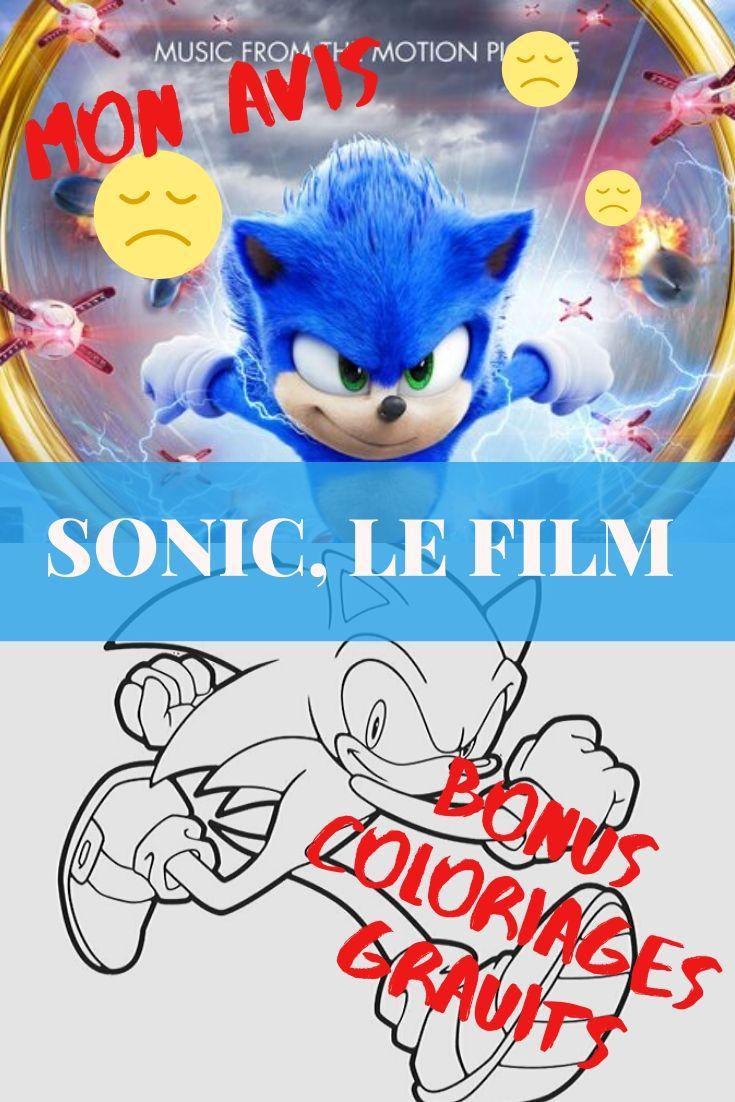 Sonic Le Film + Coloriages Gratuits Sonic encequiconcerne Faire Coloriage Gratuit Sur Ordinateur