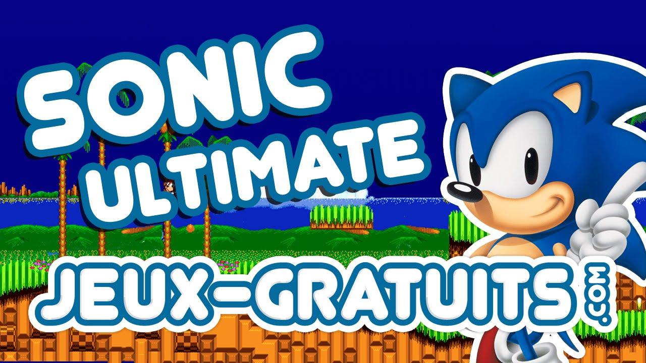 Sonic Ultimate : Jeu Gratuit En Ligne Sur Jeux-Gratuits destiné Jeux De Musique En Ligne