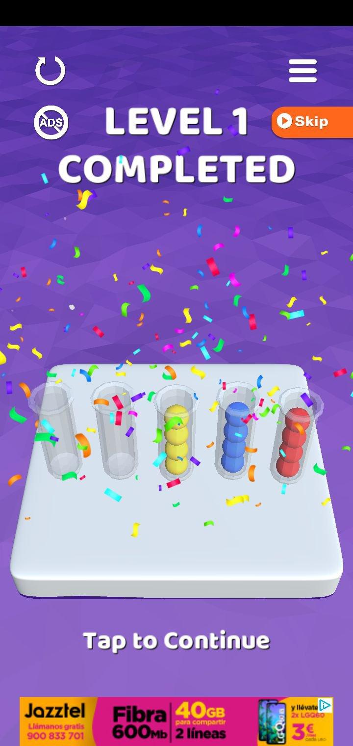 Sort It 3D 1.1.7 - Télécharger Pour Android Apk Gratuitement concernant Jeux De Puissance 4 Gratuit