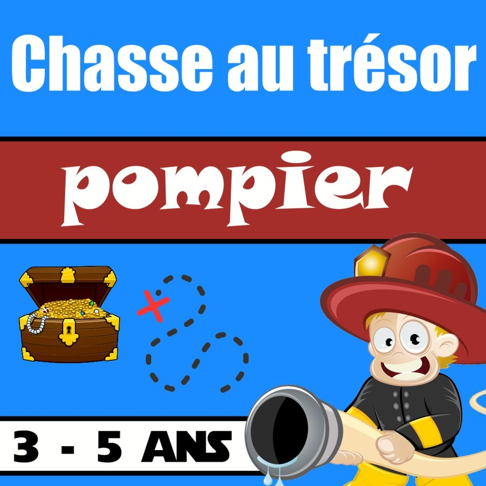 Sos Pompier | Chasse Au Trésor, Pompier Et Pompier Enfant dedans Jeux Gratuit De Pompier